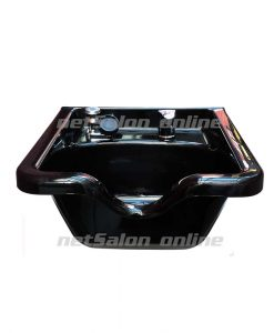 Black Hairdressing Back Wash Shampoo Basin Sink Salon Hairdresser Hair Barbers