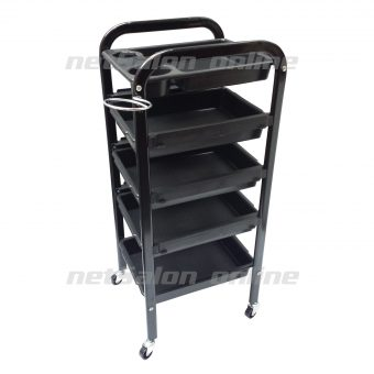 Salon Hairdresser Barber Hair Beauty Storage Trolley Drawers Colouring Spa Cart
