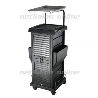 Salon Hairdresser Drawers Beauty Storage Trolley Colouring Hair Spa Roller Cart