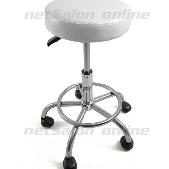 Salon Saddle Beauty Stool Massage Medical Manicure Gas Lift Swivel Chair Tattoo