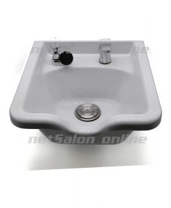 Hairdressing Back Wash Shampoo Basin Sink Salon Hairdresser Hair Barbers White